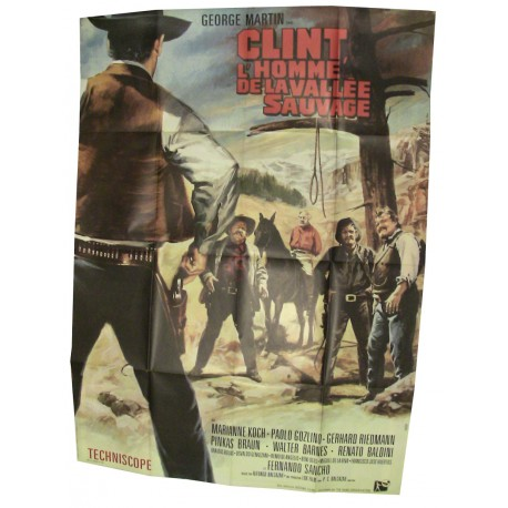Clint l'homme de la Vallée Sauvage
