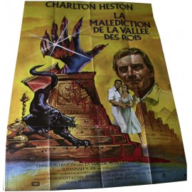 La Malédiction de la Vallée des Rois - 1980 - Mike Newell / Charlton Heston