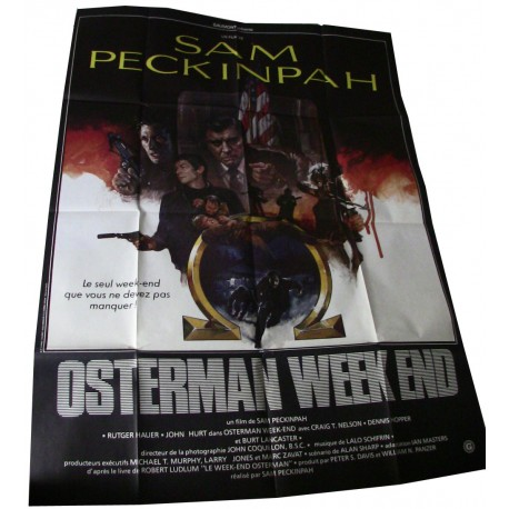 The Osterman Weekend - 1983 -  Sam Peckinpah / Rutger Hauer / Dennis Hopper / John Hurt