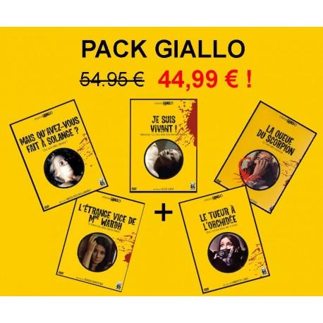 03 - Pack Giallo (MAIS QU'AVEZ-VOUS FAIT A SOLANGE, JE SUIS VIVANT...)