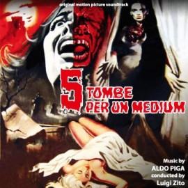Cinq tombes pour un médium / L'orgie des vampires (Aldo Piga) CD Soundtrack