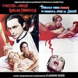 Chair pour Frankenstein / Du sang pour Dracula (Claudio Gizzi) CD Soundtrack