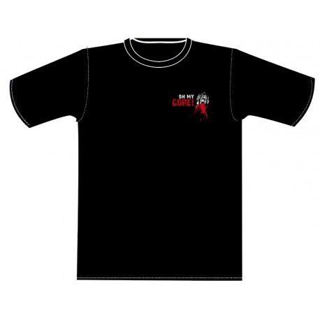 "T-Shirt ""Oh My Gore !"" new logo Black"