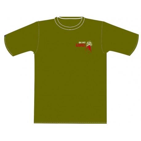 "T-Shirt ""Oh My Gore !"" new logo Kaki"