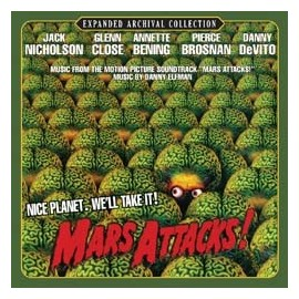 Mars Attacks ! Soundtrack