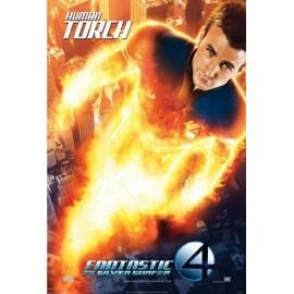 Magnet Les Quatres Fantastiques - Human Torch