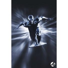 Magnet Les Quatres Fantastiques - Affiche teaser