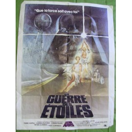 La Guerre des Etoiles (Star Wars) - 1977 - George Lucas / Harrison Ford / Carrie Fisher / Mark Hamill