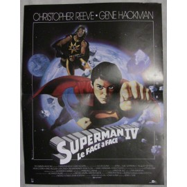 Superman IV - Le Face à Face - 1987 - Christopher Reeve / Gene Hackman