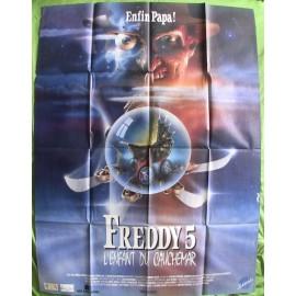 Freddy 5 - L'enfant du cauchemar - 1989 - Stephen Hopkins / Wes Craven / Robert Englund /  Lisa Wilcox
