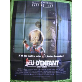 Jeu d'Enfant (Chucky / Child's Play) - 1988 - Tom Holland / Don Mancini / Brad Dourif