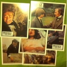 Dracula et ses femmes vampires - Jeu de 6 photos - 1974 - Dan Curtis / Richard Matheson / Jack Palance / Simon Ward