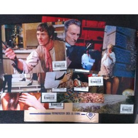 Frankenstein créa la femme - Jeu de 9 photos - 1967 - Terence Fisher / Peter Cushing / Susan Denberg