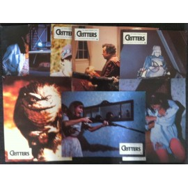 Critters - Jeu de 8 photos - 1986 - Stephen Herek / Dee Wallace / Billy Green Bush / Scott Grimes