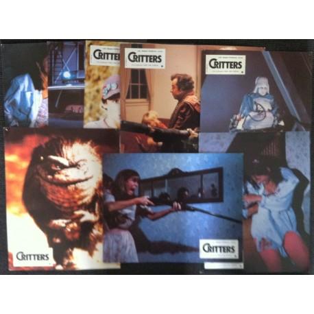 Critters - Jeu de 8 photos - 1986 - Stephen Herek / Dee Wallace / Billy Green Bush / Scott Grimes