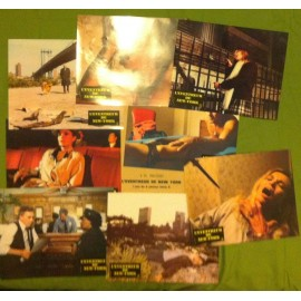 L'éventreur de New York - Jeu B de 8 photos - 1982 - Lucio Fulci / Jack Hedley / Almanta Suska