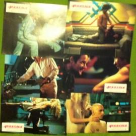 Androïde - Jeu de 6 photos - 1982 - Aaron Lipstadt / Klaus Kinski / Brie Howard
