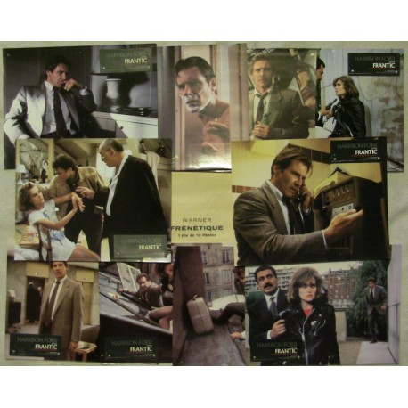 Frantic - Jeu de 10 photos - 1988 - Roman Polanski / Harrison Ford / Emmanuelle Seigner