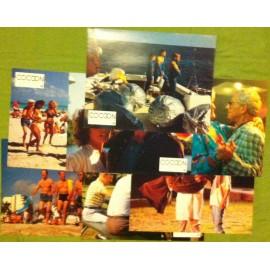 Cocoon le retour - Jeu de 7 photos - 1988 - Daniel Petrie / Don Ameche / Wilford Brimley / Courteney Cox