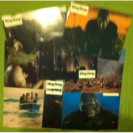 King Kong - Jeu de 8 photos - 1976 - John Guillermin / Jeff Bridges / Jessica Lange