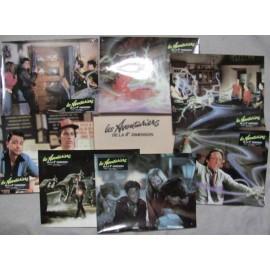 Les aventuriers de la 4e dimension - Jeu de 7 photos - 1985 - Jonathan R. Betuel / John Stockwell / Danielle von Zerneck