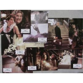 Nuit de noce chez les fantomes - Jeu de 8 photos - 1986 - Gene Wilder / Gilda Radner / Dom DeLuise