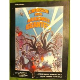 L'Invasion Des Araignees Geantes - Synopsis