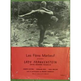 Lady Frankenstein - Synopsis