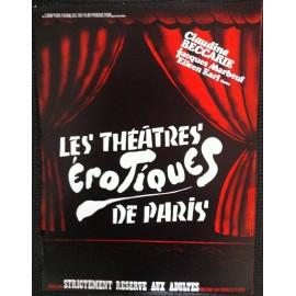 Les Théatres Érotiques De Paris - Synopsis