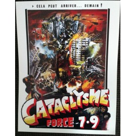 Cataclysme Force 7,9 - Synopsis