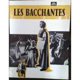 Les Bacchantes - Synopsis