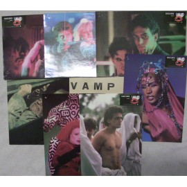 Vamp - Jeu de 7 photos - 1986 - Grace Jones / Chris Makepeace / Sandy Baron