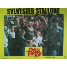 OVER THE TOP - Jeu de 10 photos d'exploitation - 1987 - Golan / Cannon / Sylvester Stallone / Susan Blakely / Robert Loggia
