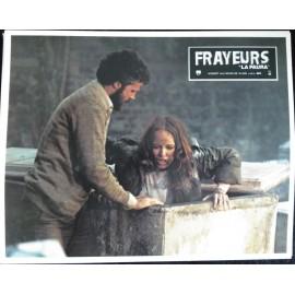 FRAYEURS - Jeu de 12 photos d'exploitation - 1980 - Lucio Fulci / Christopher George / Catriona MacColl / Carlo De Mejo