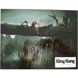 KING KONG - Jeu de 5 photos d'exploitation - 1976 - John Guillermin / Jeff Bridges / Jessica Lange