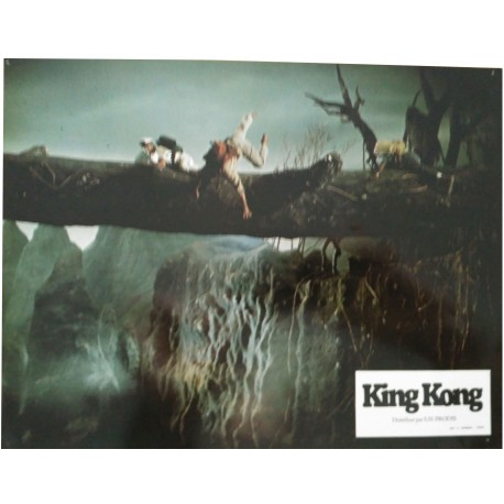 KING KONG - Jeu de 5 photos d'exploitation - 1976 - John Guillermin / Jeff Bridges / Jessica Lange