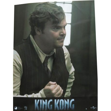 KING KONG - Jeux de 4 photos d'exploitations - 2005 - Peter Jackson / Naomi Watts / Jack Black / Adrien Brody