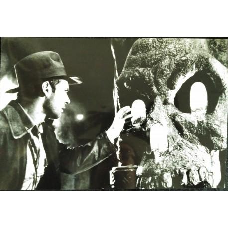 INDIANA JONES ET LE TEMPLE MAUDIT - Photo presse - 1984 - Steven Spielberg / Harrison Ford / Kate Capshaw