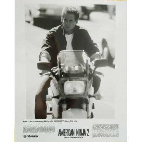 AMERICAN NINJA II - Photo presse - 1987 - Michael Dudikoff / Steve James