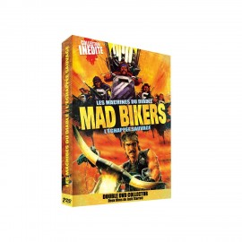 Mad Bikers : Les machines du diable / L'échappée sauvage Double DVD !