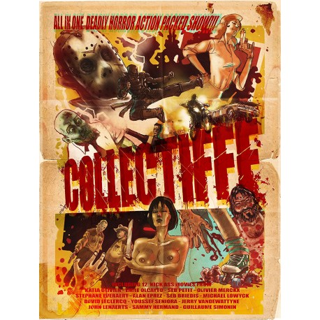 Collectifff (Compilation de courts-métrages du BIFFF) - 2DVDs Edition limitée