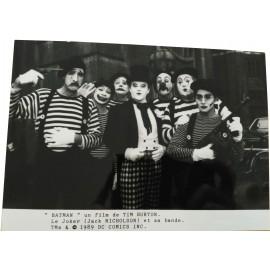 BATMAN - Photo presse - 1989 - Tim Burton, Michael Keaton, Jack Nicholson, Kim Basinger