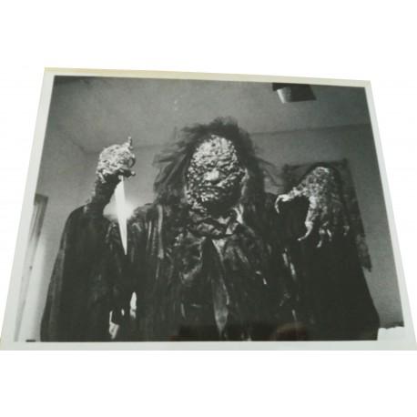 THE BLACK CAT - Photo presse - 1989 - Luigi Cozzi, Florence Guérin, Urbano Barberini, Caroline Munro