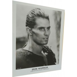IRON WARRIOR - Photo presse - 1987 - Alfonso Brescia