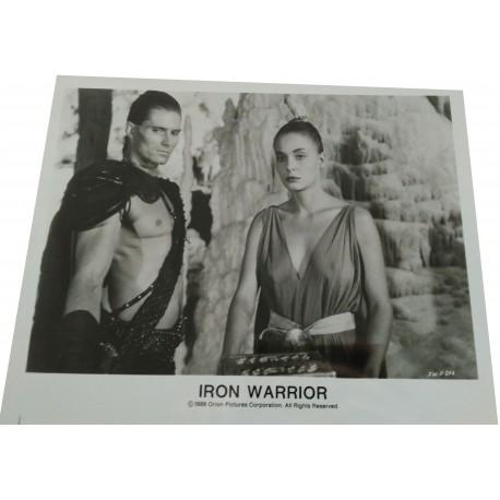 IRON WARRIOR - Photo presse - 1987 - Alfonso Brescia