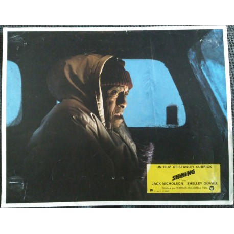 THE SHINING - Photo d'exploitation - 1980 - Stanley Kubrick, Jack Nicholson, Shelley Duvall, Danny Lloyd