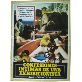 Confesiones íntimas de una exhibicionista - Synopsis  Espagnol - 1983 - Jesús Franco, Lina Romay