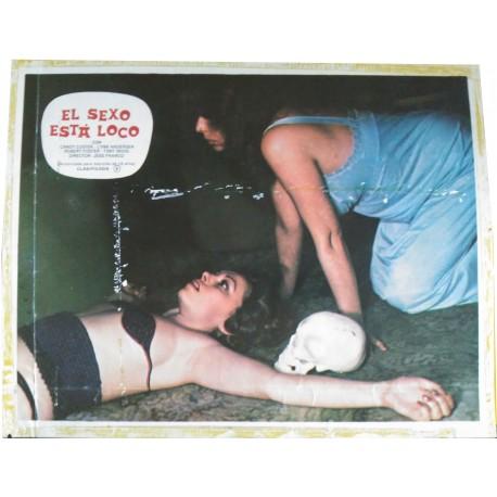 EL SEXO ESTA LOCO - Photo d'exploitation - 1981 - Jesús Franco, Lina Romay