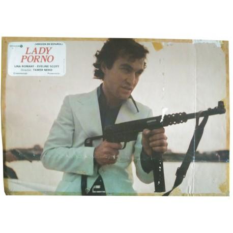 LA PARTOUZE DE MINUIT (LADE PORNO) - Photo d'exploitation espagnole - 1976 - Jesús Franco, Lina Romay