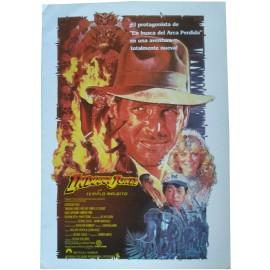 INDIANA JONES ET LE TEMPLE MAUDIT - Synopsis Espagnol - 1984 - Steven Spielberg, Harrison Ford, Kate Capshaw
